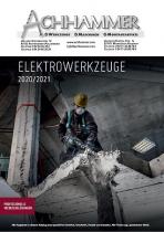 Elektrowerkzeuge 2020 / 2021